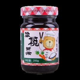 200g舌尖熊橄榄菜