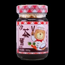 200g舌尖熊沙茶酱