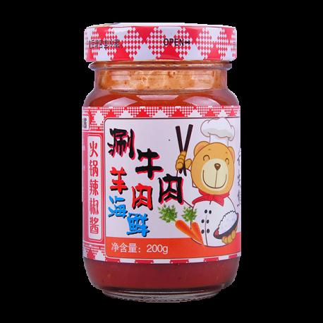 200g火锅辣椒酱
