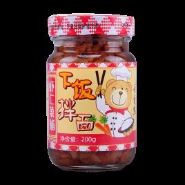 200g舌尖熊虾仁菜脯