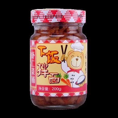 200g虾仁菜脯