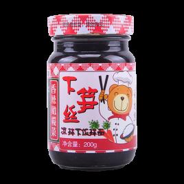 200g舌尖熊香辣橄榄菜