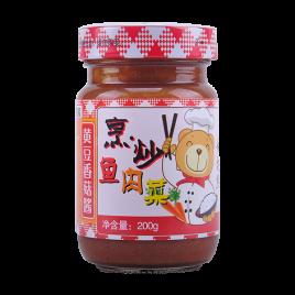 200g舌尖熊黄豆香菇酱
