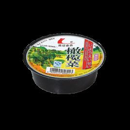 110g熊记碟装橄榄菜