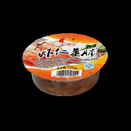 碟装_125g 60g熊记虾仁菜脯8044 8020