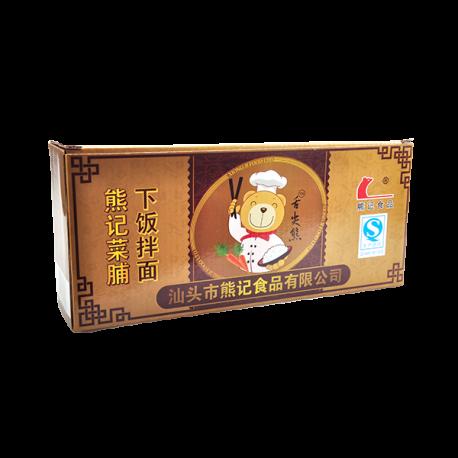 舌尖熊4瓶礼品盒 金色