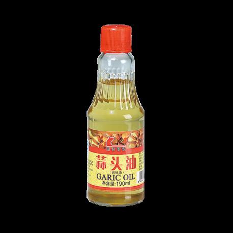 酱料_190ml熊记蒜头油 4008