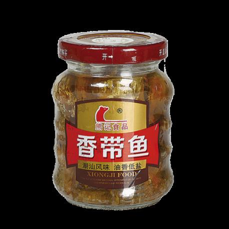 鱼_160g熊记香带鱼 4268