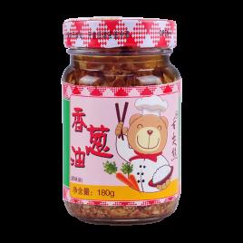 180g舌尖熊香葱油(带香蔥粒)