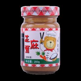 200g舌尖熊芝麻酱