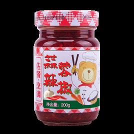 200g舌尖熊蒜蓉辣椒