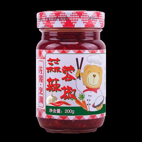 200g蒜蓉辣椒